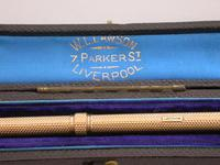 Victorian Cased 10crt Gold Sliding Propelling Pencil (4 of 15)