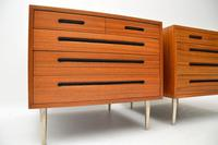 1960's Pair of Vintage Mahogany Chests by Edward Wormley for Dunbar (9 of 12)
