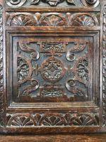 Victorian Carved Oak Chair (9 of 9)