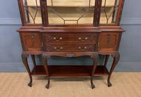 Carved Mahogany Display Cabinet by Warings (4 of 19)