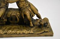 Antique Carved Wood Classical Sculpture (7 of 12)