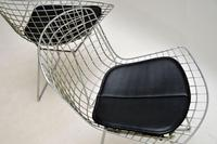 Pair of Vintage Wire Chairs by Harry Bertoia (10 of 10)