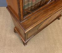 Burr Walnut Bookcase by Jas Shoolbred (18 of 19)