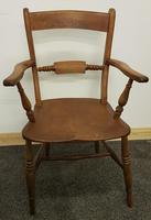 Early 20th Century Harlequin Set of 4 Chairs (18 of 21)