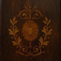Antique Purdonium, English, Rosewood, Fireside, Cabinet, Edwardian c.1910 (3 of 11)