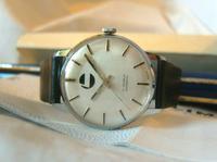 Vintage Swiss Wristwatch 1970s Gentlemans 17 Jewel Limit With Castrol Logo Dial Fwo (3 of 12)