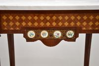 Antique French Marble Top Console Table (7 of 11)