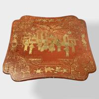 Crutsy Nest of 4 Chinese Red Lacquered Tables (6 of 13)