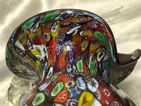 2 Italian Murano 20th Century Fratelli & Torso Millefiori Glass Vases (14 of 15)