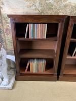 Pair of Late Victorian Mahogany Bookcases (2 of 5)