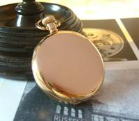 Antique Pocket Watch 1920 Thomas Russell 15 Jewel 10ct Rose Gold Filled Case Fwo (6 of 12)