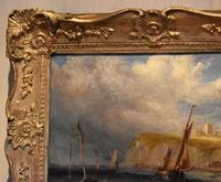 Coastal scene oil painting by Joseph W Yarnold (6 of 6)