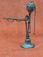 Antique Middle Eastern Hookah Silver 19th Century (7 of 12)
