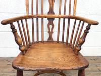 Antique Windsor Armchair in Elm & Ash (4 of 12)
