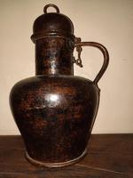 18th Century Spanish Arab Style Copper Jug (4 of 10)