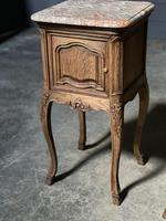Pair of French Marble Top Bedside Cupboards (7 of 26)