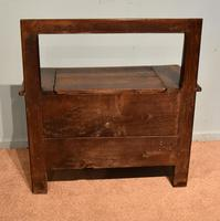 Mid 19th Century French Chestnut Bench (6 of 7)