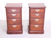 Pair of Mahogany Victorian Bedside Cabinets (2 of 12)