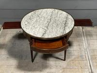 French Marble Top Coffee or Lamp Table (10 of 17)