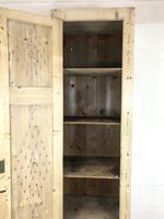 Antique Pine Narrow Food Cupboard (6 of 10)