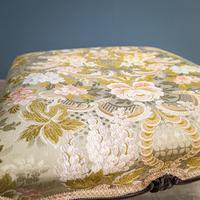 Mahogany Victorian Footstool (5 of 9)