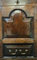Beautiful 18th Century Georgian Period English Country Oak Mule Chest Sideboard Cabinet (11 of 19)