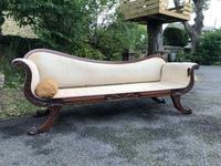 Regency Mahogany Sofa For Recovering (10 of 10)