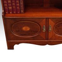 Edwardian Mahogany Open Bookcase (5 of 8)