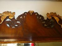 English 18th Century Mahogany & Gilt Mirror (5 of 9)