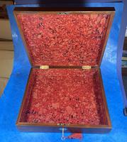 Georgian Mahogany Box With a Working Lock and Key (4 of 13)