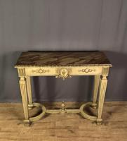 Italian Painted & Giltwood Console Table (3 of 11)