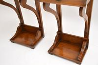 Pair of Antique Empire Style Fruitwood Side Tables (6 of 8)