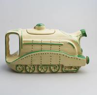 Extremely Rare Art Deco Sadler Mallard Train Pottery Teapot c.1930 (2 of 12)