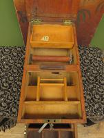 Antique Wooden Shop Till with Pull-out Drawer & Bell (6 of 14)