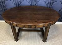 Edwardian Mahogany Writing Table (2 of 9)