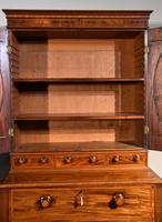 George III Sheraton Period Secretaire Cabinet (6 of 9)