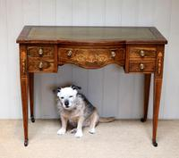 Inlaid Rosewood Writing Desk (10 of 11)