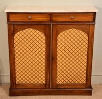 Regency Goncalo Alves Chiffonier / Side Cabinet (6 of 7)