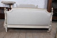 Newly Upholstered King Size Empire Style Bed (2 of 7)
