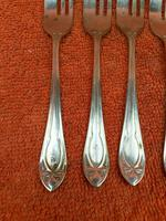 Silver Plate EPNS Cake Forks c.1930 (5 of 8)