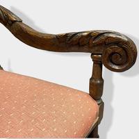 17th Century High Back Armchair (7 of 14)