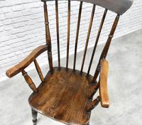 Antique Stickback Windsor Armchair (3 of 6)