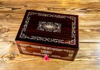 MOP Rosewood and Sewing/Jewellery Box 1840 (9 of 11)