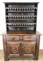 Gothic Antique Carved Oak Dresser (2 of 10)