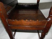Early Welsh Oak Waincot Chair (7 of 12)