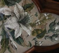 Victorian Beaded  Tapestry Tray (6 of 7)