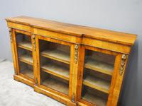 Victorian Walnut Breakfront Credenza (3 of 13)