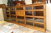 Suite of Oak Stacking Bookcases (6 of 7)