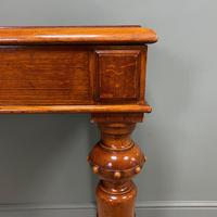 Stunning Victorian Oak Antique Console Table (6 of 7)