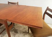 1960's Danish mid century dining table and 6 chairs (6 of 9)